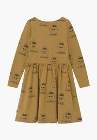 Mainio - Jersey dress - dull gold - 1