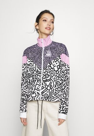 TRACK JACKET - Veste de survêtement - purple/rose