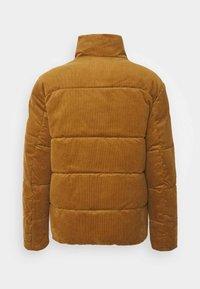 Jack & Jones - JORCORDUROY PUFFER - Winter jacket - rubber - 1