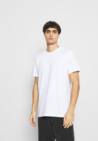 Selected Homme - SLHNORMAN O NECK TEE  - T-paita - bright white - 0
