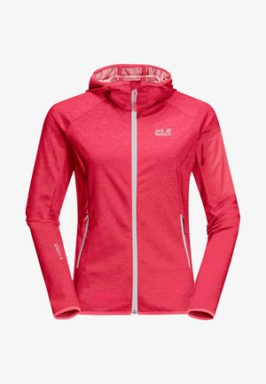 Softshelljacke - clear red