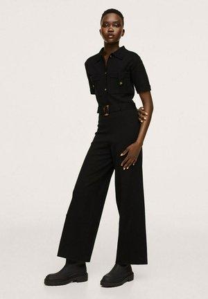 BELT LONG - Jumpsuit - black