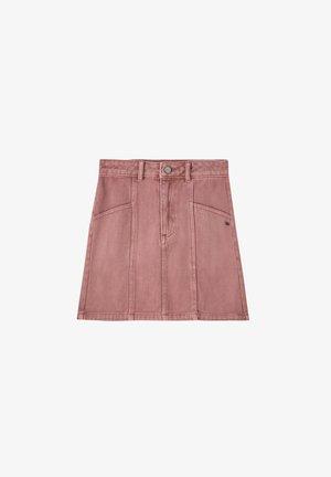 Denim skirt - rose