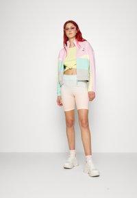 Puma - TRACK JACKET - Zip-up sweatshirt - gray/violet - 4