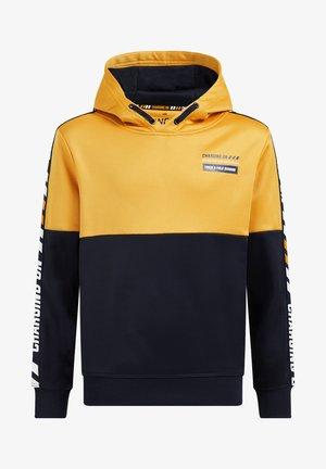 Collegepaita - ochre yellow