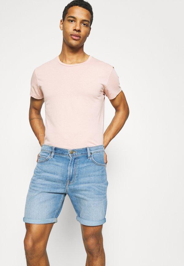 Lee RIDER - Szorty jeansowe - maui light/niebieski denim Odzież Męska JCAU