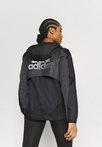 adidas Performance - Treningsjakke - black/grey six - 2
