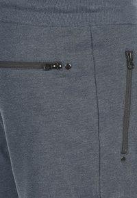 Solid - SWEATSHORTS TARAS - Shorts - blue melange - 2
