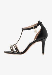 Trussardi - Korolliset sandaalit - black - 1