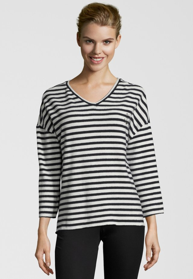 ANCHOR - Long sleeved top - blue/white