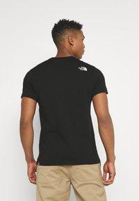 The North Face - CENTRAL LOGO  - T-shirt imprimé - black - 2