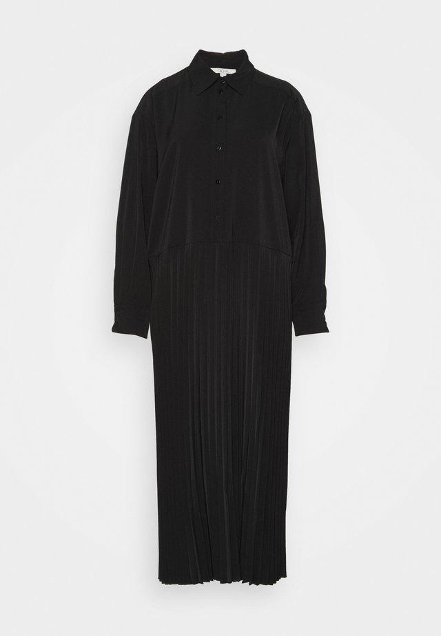 CARMEN - Abito a camicia - black