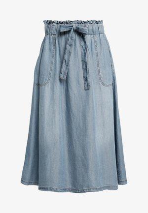VINCA SKIRT - Jupe trapèze - blue denim