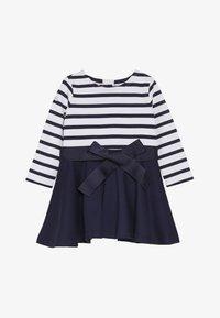 Polo Ralph Lauren - PONTE STRIPE - Jerseykleid - french navy/white - 4