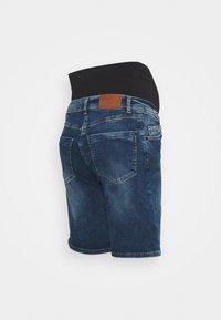 LOVE2WAIT - Denim shorts - stone wash - 1