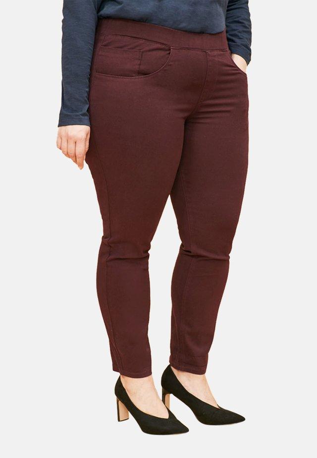 Slim fit jeans - dark purple