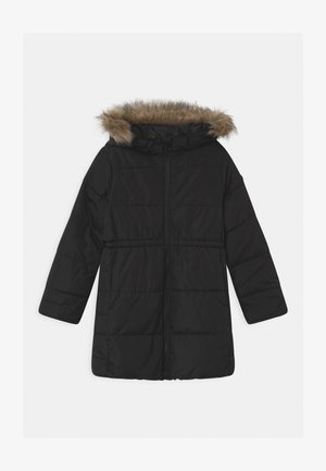 GIRL WARMEST - Wintermantel - true black