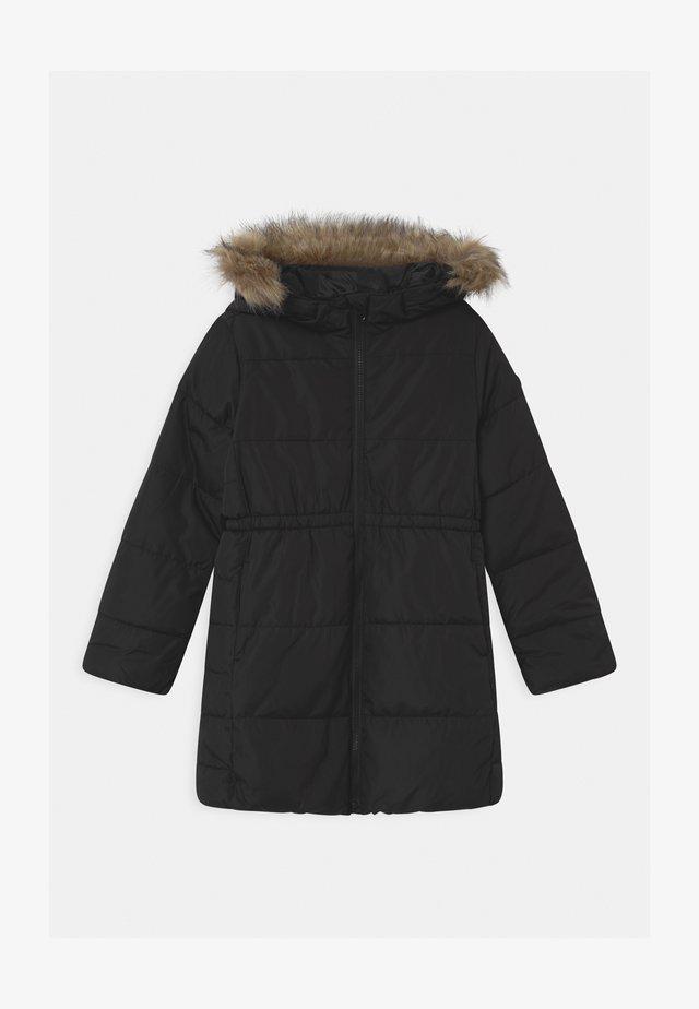 GIRL WARMEST - Zimní kabát - true black