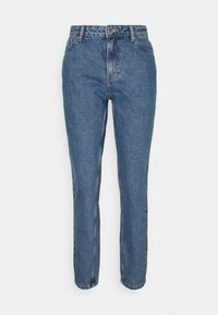 ONLY - ONLJAGGER LIFE HIGH MOM ANKLE - Jeans Tapered Fit - medium blue denim - 0