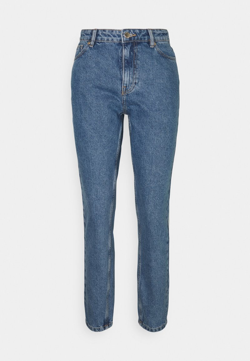 ONLY - ONLJAGGER LIFE HIGH MOM ANKLE - Jeans Tapered Fit - medium blue denim