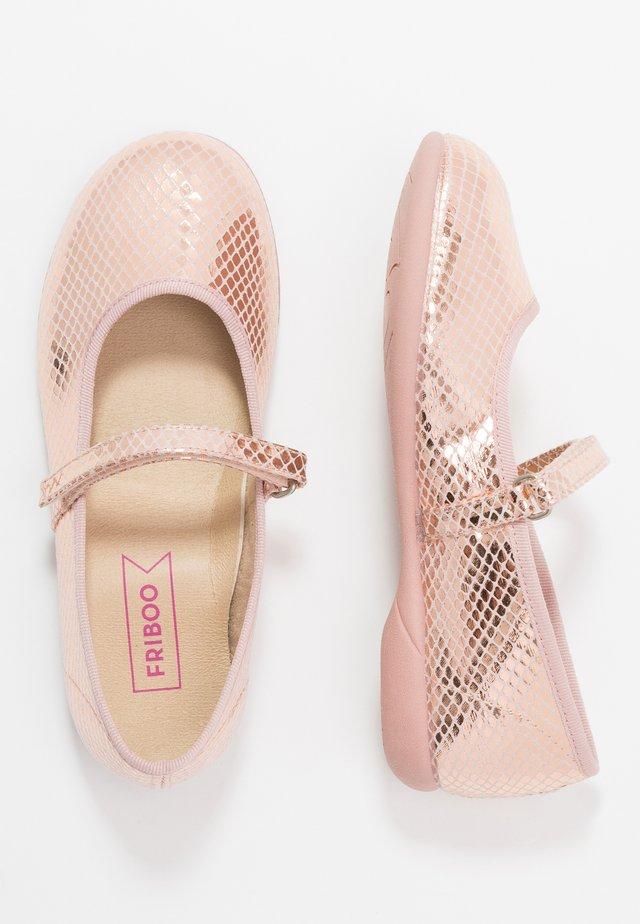 Ballet pumps - rose gold