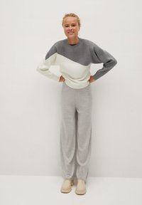 Mango - SPACE - Sweatshirts - středně šedá vigore - 1