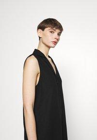 Cotton On - VICKY VEST DRESS - Vestido camisero - black - 4
