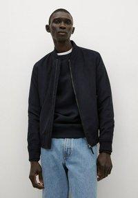 Mango - Light jacket - dunkles marineblau - 7