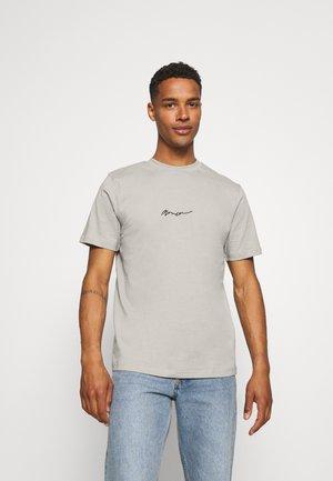ESSENTIAL REGULAR BASIC TEE UNISEX - Basic T-shirt - slate grey
