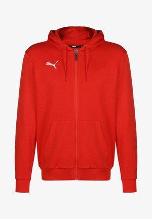 TEAMGOAL 23 CASUALS TRAININGSJACKE HERREN - veste en sweat zippée - puma red