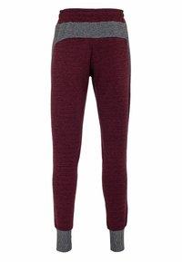 Cipo & Baxx - Tracksuit bottoms - burgundy-grey - 1