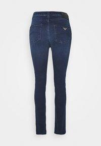 Emporio Armani - POCKETS PANT - Jeans Skinny Fit - denim blu - 1