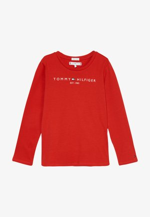 ESSENTIAL TEE - Long sleeved top - red