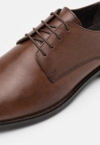 Zign - LEATHER - Stringate eleganti - brown - 5
