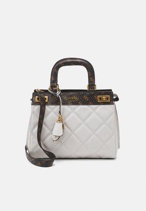 KATEY LUXURY SATCHEL - Handbag - stone/multi