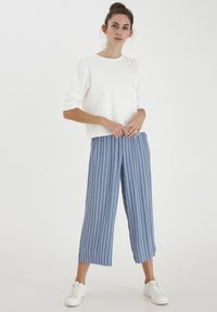 ICHI - Trousers - coronet blue - 1