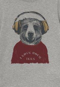 IKKS - TEE - Long sleeved top - gris chiné moyen - 2