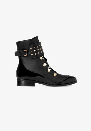 JESSY - Lace-up ankle boots - black