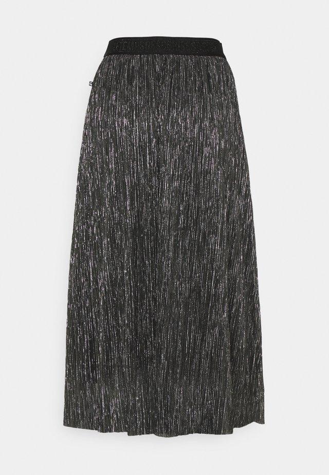 PINA - A-line skjørt - black