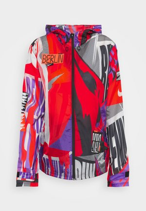 ESSENTIAL - Sports jacket - bright mango