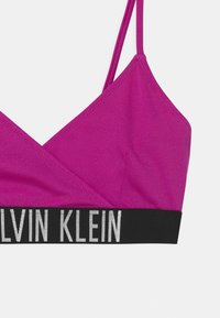 Calvin Klein Swimwear - CROSSOVER TRIANGLE SET - Bikini - purple - 2