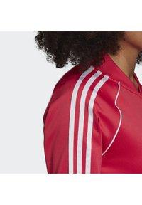 adidas Originals - TRACKTOP - Bombertakki - power pink/white - 6