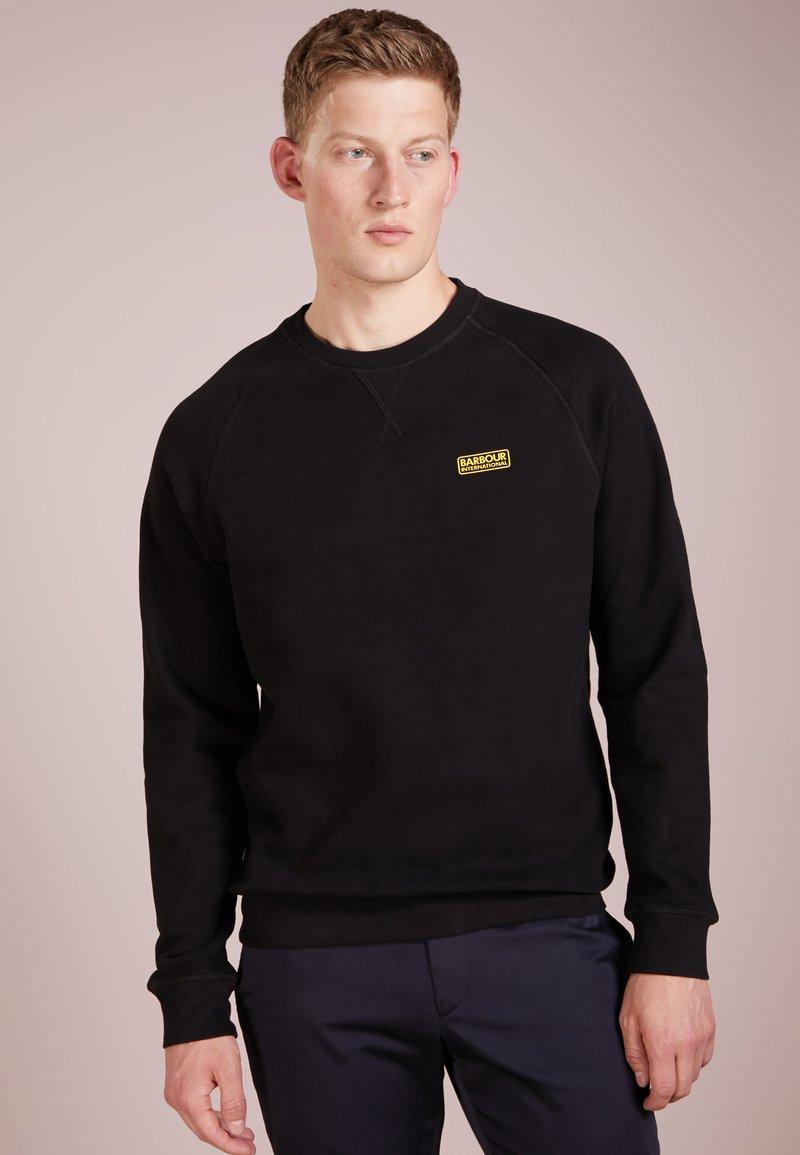 Barbour International - ESSENTIAL CREW  - Sweatshirt - black