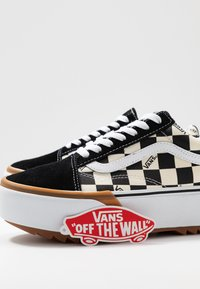 Vans - OLD SKOOL STACKED - Sneakers - multicolor/true white - 9