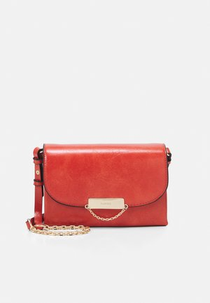 CROSSBODY NECKLACE CORAL - Across body bag - coral