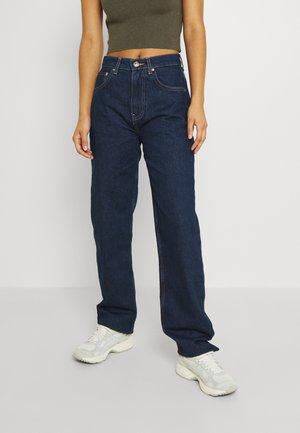HIGH WAIST - Jeans Relaxed Fit - deep ocean