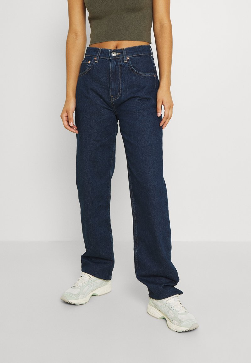 Gina Tricot - HIGH WAIST - Jeans relaxed fit - deep ocean