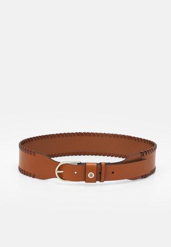 CLASSIC HIGH WAIST BELT - Waist belt - brown