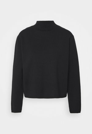 SLFCALI CROP HIGHNECK - Jumper - black