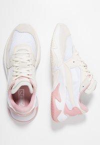 Puma - STORM ORIGIN - Trainers - pastel parchment/white - 3